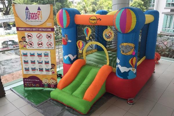Hotair Balloon Bouncy Castle