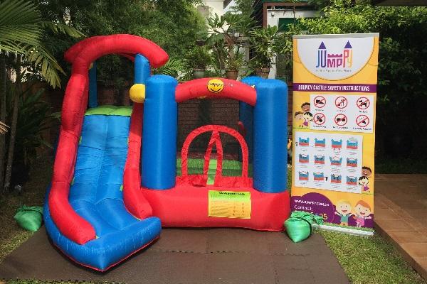 6 in 1 Bouncy Castle