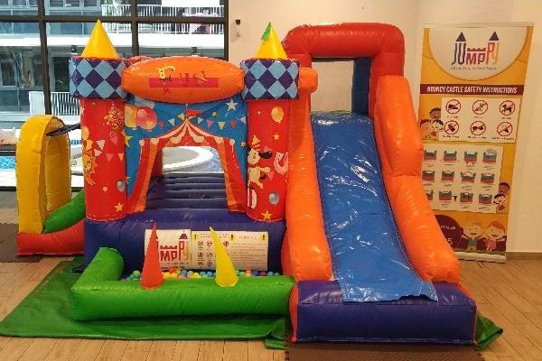 7 in 1 Adventure Bouncy Castle