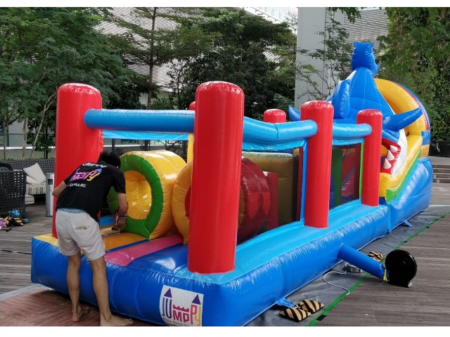 Full Obstacle Course Bouncy Castle