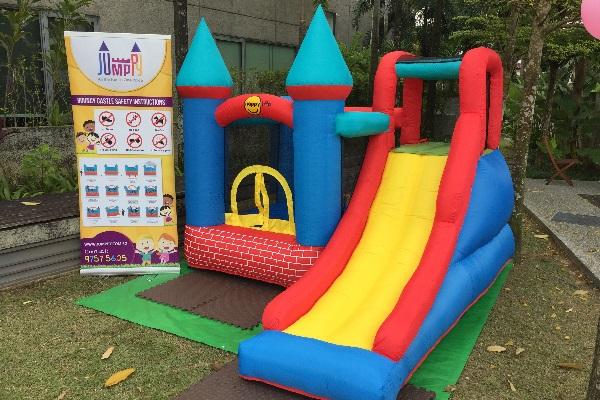 Red Bricks Bouncy Castle