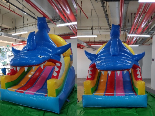 Shark Attack Bouncy Castle